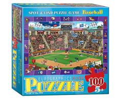 EuroGraphics Spot and Find Baseball MO Puzzle (100 Teile)