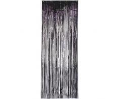 Amscan International 24200–10 91 cm x 2,43 m schwarz Tür Vorhang