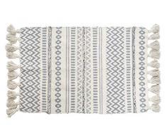 Item-TX-161424 Teppich Rustikal Knoten 60 x 90 cm, Mehrfarbig (TX-161424)