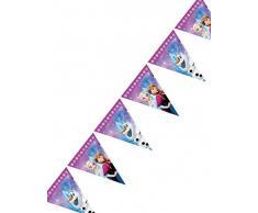 Procos 86921 Filare Wimpelkette Disney Frozen Northern Lights, mehrfar
