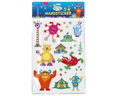 Moses 30203 - Monster Wandsticker für das Kinderzimmer