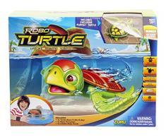 Goliath 32828 Robo-Turtle   Spielset Wasserschildkröte, Aquarium, Felsen   Gigantischer Wasserspaß auch in der Badewanne   Lebensechte Bewegungen auf dem Land und im Wasser