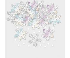 Amscan International 360126 Schneeflocken Konfetti, 14 g