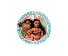 Disney Vaiana Moana 49765 SEMO2002 Party Dekoration Pappteller 23cm