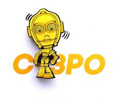3D Light FX Licht Star Wars C-3PO 3D Mini-Sized Deco LED Wandleuchte