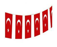 Susy Card 11363272 - Wimpelkette, Motiv Turkey, 4 m, 1 Stück,