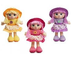 cosas Dinge – Puppe Geschirrtuch 3 Modelle, mehrfarbig (654356)