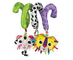 Lamaze Babyspielzeug Activity Spirale mehrfarbig - hochwertige Spielzeug Neugeborene - ideal für unterwegs - fördert die Motorik Ihres Kindes - ab 0 Monate