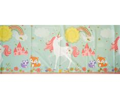 Amscan International Tischdecke 571929 Plastic-printedtc PL Magical Einhorn