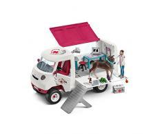 Schleich 42370 Mobile Tierärztin mit Hannoveraner Fohlen Spielzeug