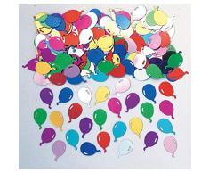 amscan Konfetti Ballons 14 g, Bunt