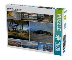 CALVENDO Puzzle ehem. Pavillon auf der Expo 1000 Teile Lege-Größe 64 x 48 cm Foto-Puzzle Bild von EL.KRA-photographie