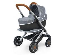 Quinny 7600253104 3in1 Puppenwagen Kinderwagen Spiel, grau