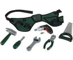 Theo Klein 8493 - BOSCH Werkzeuggürtel mit Akkuschrauber Ixolino, Spielzeug