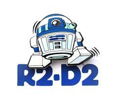 3D Light FX Licht Star Wars R2-D2 3D Deco Mini-Sized LED Wandleuchte