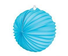 Boland 30464 Ballonlaterne Papier, azurblau