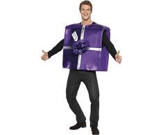 Smiffys Unisex Weihnachtsgeschenk Kostüm, Überwurf, Größe: One Size, 28018