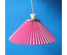 Kahlert Licht 10522 - Minipuppenzubehör - Hängelampe Plisseschirm, farblich Sortiert