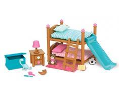 Lil Woodzeez kinderzimmer-Set mit Etagenbett 18-teilig