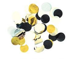 Amscan International 9902284 Papier Wishes Konfetti, Gold
