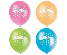 30,5 cm Latex Pastell Baby Dusche Luftballons, 8 Stück