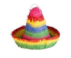 Amscan 9903143 Pinata Sombrero Spielzeug, Mehrfarbig