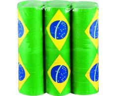 Boland 44408 – Set Luftschlangen Brazil, Grün