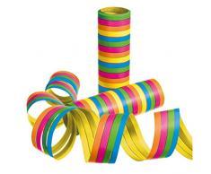 Susy Card 40012308 - Luftschlangen Streifen, verschiedene Farben, 3er Packung