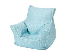 Knorrtoys 68246 - Kindersitzsack - Geo cube neo mint