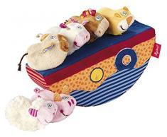 Sigikid 40917 - Wackel-Schiff, Babyspielzeug