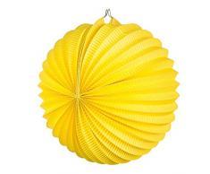 Boland 30462 Ballonlaterne Papier, gelb