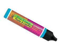 Kreul 49811 - PicTixx Pluster und Liner Pen, Plusterfarbe zum Dekorieren und Verzieren, für Dekoeffekte durch aufplustern im Backofen, mit Bügeleisen oder Fön, 29 ml Pen, himmelblau
