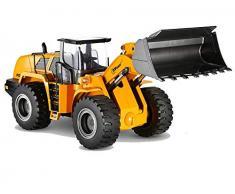 Top Race Qualität Diecast Models Heavy Metal Bau Spielzeug Traktor Fahrzeuge, Maßstab 1:40, Frontlader, TR-213D