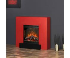 muenkel design breeze Optiflame Elektrokamin: Rot