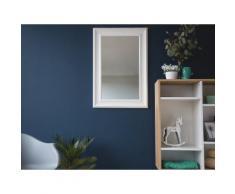 Wandspiegel weiss 61 x 91 cm LUNEL