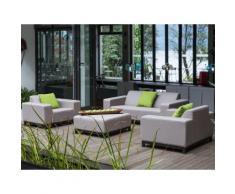 Lounge Set Sunbrella beige 5-Sitzer ROVIGO