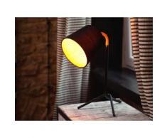 Tischlampe Schwarz - Tischleuchte - Nachttischlampe - Leselampe - Beleuchtung - MOOKI