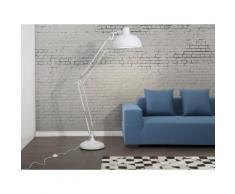 Stehlampe Weiss - Standlampe - Leselampe - Stehleuchte - Bürolampe - Beleuchtung - PARANA
