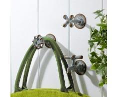 Veranda Vintage Garden Wasserhahn Eisen Wand Haken Set 3 von Tutti Decor