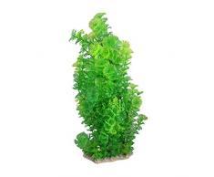sourcingmap Kunstpflanze Schneeflockenblätter, 36 cm, Grün