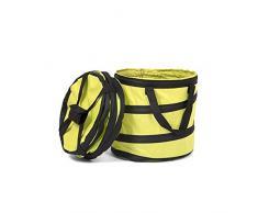 Fundwerk Pop-up Garten-Abfallsack 15L im 2er Set | Die Gartenabfallsäcke sind bestens geeignet als Laubsack und für Grünschnitt | hellgrün