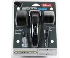 Zolux Kit Elektrischer Rasenmäher, kabellos mit Akku für Hunde