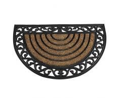 Siena Garden Fußmatte Impalla, Schmutzfang, schwarz/natur, 45x75cm, 548191