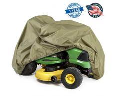 Pyle Armor Shield Rasen Traktor Rasenmäher schützende Aufbewahrung Cover Universal Size olivgrün