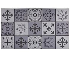 Esschert Design Fußmatte Mosaik aus Recyceltes Gummigranulat Polyestervlies, 76,0 x 45,5 x 1,0 cm