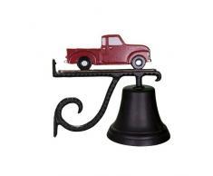 Montague Metall Produkte Glocke mit Rot Classic Truck