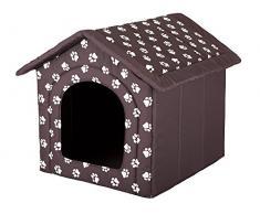 Hobbydog Hundehütte, Größe 2, 44x38cm, aushaltbares Codurastoff, waschbar bei 30 ° C, Beständigkeit gegen Kratzer, EU-Produkt