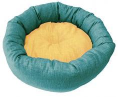 Zoo Med Croci Korb Rotunde Dual für Hunde Azur/gelb 50 cm