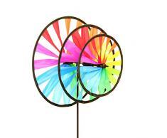 Elliot WMTR30 Wetterfahne Dreifach, mehrfarbig, 30 x 25 x 79 cm