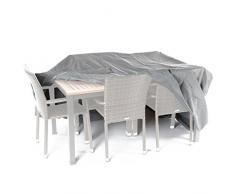 Ultranatura Gewebeschutzhülle für Gartenmöbel Sylt, robuste Abdeckung aus wasserdichtem Polyester, ca. 230 x 165 x 80 cm